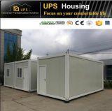 Зеленый модульный панельный дом контейнера для офиса