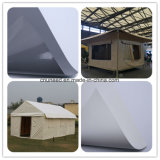 テントファブリックおよびカバーのための反紫外線PVC防水シート
