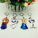 PVC personalizado 3D barato Keychains de la alta calidad promocional de la Navidad