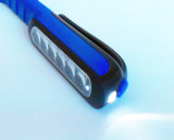 3AAA a actionné la lumière Pocket de travail de crayon lecteur de 7 DEL avec l'aimant, l'utilisation en tant que lumière fonctionnante ou la lampe-torche