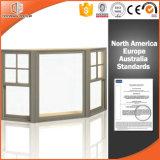 Home Use acessórios exteriores fixados Bay & Bow Window, Tamanho personalizado intervalo térmico revestido de madeira maciça da Baía de Alumínio & Bow Window