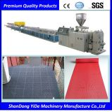 Type creux extrudeuse de PVC de couvre-tapis d'étage de S