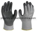 Отрежьте упорную перчатку работы с окунать полиуретана (PD8024)
