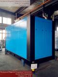 Compresor de aire resistente del tornillo del uso de la fábrica de la metalurgia
