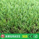 Vier Farben-dekorativer Gras-Garten-Waren-Chemiefasergewebe-Rasen