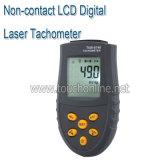 Sans contact Tachymètre laser numérique LCD tr/min jauge de vitesse