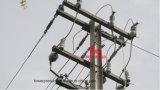 Megatro 11/22kv H Typ heller Winkel Pole