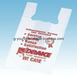 Дешевой хозяйственная сумка таможни LDPE цены напечатанная оптовой продажей