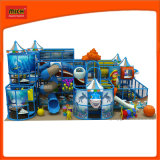 Детский парк развлечений для использования внутри помещений детская площадка с слайды из стекловолокна