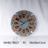 Металлические утюг круглые Настенные часы для дома украшения