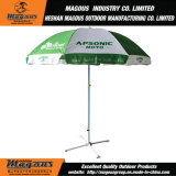 parapluie de plage 48inch*8K de publicité en acier