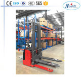 China 1500 kg lleno apilador eléctrico estándar europeo