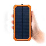 Banco de la Energía Solar de mayor venta 12000 mAh grabado Banco de potencia para la actividad al aire libre