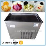 Macchina rotonda piana del gelato della frittura della vaschetta