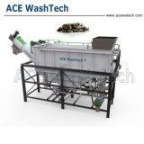 De superieure Gebruikte Plastic Machine van het Recycling van het Schroot van de Lijn van de Was Plastic