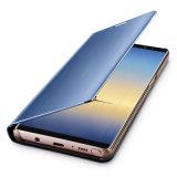 Couverture intelligente de chiquenaude de miroir Electroplated pour la note 8 de galaxie de Samsung
