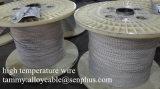Оплетенный провод стеклоткани силиконовой резины high-temperature UL 3122 изолированный