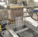 PPのPEの双生児ねじ注入口のペレタイジングを施す機械
