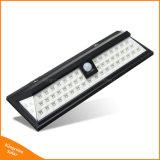 54 светодиодный индикатор солнечной энергии в Саду пассивный инфракрасный датчик движения канал настенный светильник