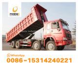 低価格アフリカのための使用されたHOWOのダンプカーのダンプトラック12のタイヤの強い品質