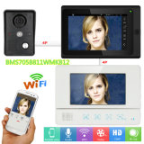 "7 "" 2 Monitoren video Doorphone /Doorbell Wechselsprechanlage verdrahtetes /Wireless WiFi System"