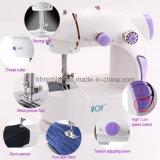 Máquina de costura portátil elétrica de preço de fábrica de China mini para o agregado familiar (FHSM-201)