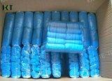 Impermeable de plástico desechables Cubrezapatos Seguridad azul