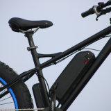 Bicicleta eléctrica con una amplia playa Moto Moto de Nieve de neumáticos