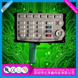 Professional Product Embossing Push Button Membrane Touch Panel Switch clouded