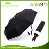 21 인치에 의하여 주문을 받아서 만들어지는 상품 광고 선전용 자동차 열려있는 Foldable LED 우산