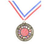 Marathon personnalisé Médaille d'argent de Sport de métal