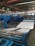 長さラインか鋼鉄コイルの生産への伸び、水平になり、そして切断