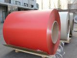 Bobina/strato di alluminio ricoperti colore preverniciati rossi per tetto