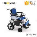 نمو [مديكل قويبمنت] عاق مسنّون طيّ كهربائيّة يزوّد كرسيّ ذو عجلات