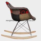 Perna de madeira de faia/ Base de fios Eames cadeira do Radar