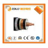 El cable eléctrico del PVC del conductor de cobre/el cable eléctrico resistente al fuego/aisló el cable de transmisión forrado el PE