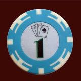Jetton покера значения разницы откалывает обломок