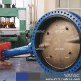 A linha central da caixa de engrenagens de Válvula Borboleta com revestimento de borracha