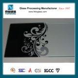 Стекло /Lacquered декоративного печатание Silkscreen стеклянное для гостиницы и трактиров