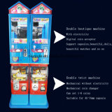 おもちゃのカプセルのおもちゃの人形のゲームの自動販売機クレーンゲーム・マシン