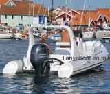 Hypalon Liya 19pés Barcos insufláveis com Motor