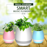 Altoparlante magico di Bluetooth del POT di fiore di musica del nuovo scrittorio all'interno dei POT della pianta della Tabella LED