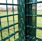 Горячая окунутая гальванизированная проволочная изгородь 868 PVC Coated двойная