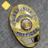 precio de fábrica personalizados promocionales insignia de seguridad