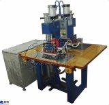 Hf 2ヘッドプラスチックロゴの浮彫りになる機械