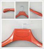 Gran hombro colgador de traje de plástico