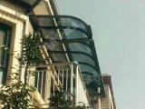 La pioggia di titanio della lega di alluminio protegge la tenda per il portello e la finestra con lo strato del policarbonato