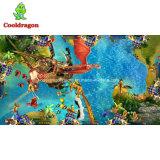 Pesca de la arcada encima de la máquina de juegos más del rey 2 video juego del océano del vector de juego de los pescados de la ranura del casino para la venta
