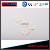 Textile élevé glacé d'alumine de 95% en céramique