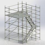 De Gebruikte Steiger Ringlock van de bouw de Bouw